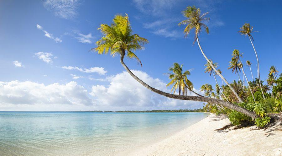 15. THE BEACHES OF AITUTAKI AND RAROTONGA, COOK ISLANDS Photo Courtesy of Paul Gauguin Cruises